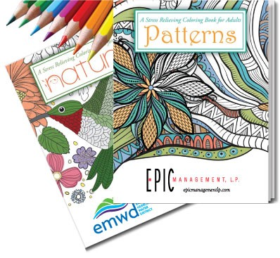 OnTarget Promotions - Adult Coloring Books - On Target