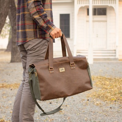 Danville Duffel - Green Canvas