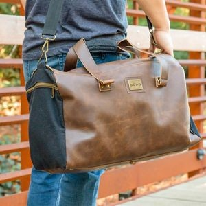 Danville Duffel - Black Canvas